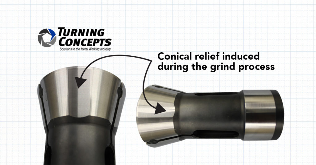 Image of collet for manufacturing
