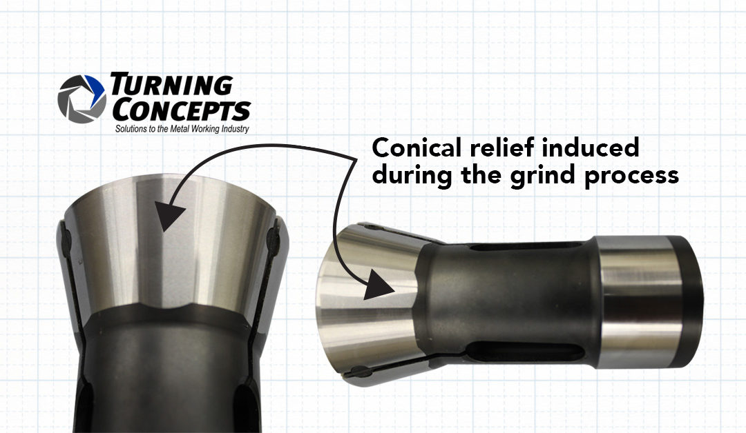 You should be using this collet!
